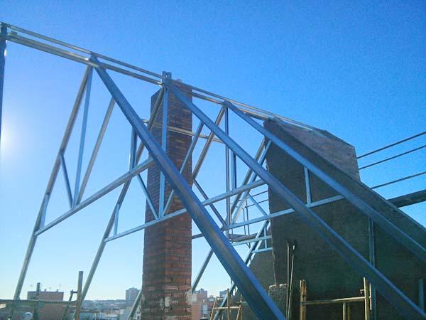 Empresas CONSTRUCCIÓN TEJADO Estructura LIGERA Metal Madrid