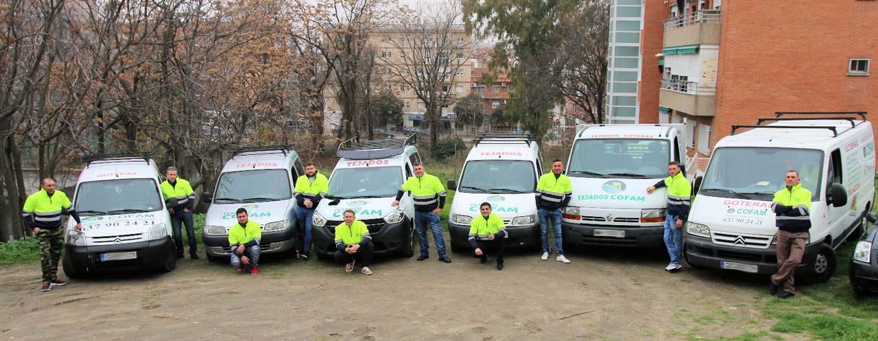 Empresa Goteras y Tejados Madrid COFAM