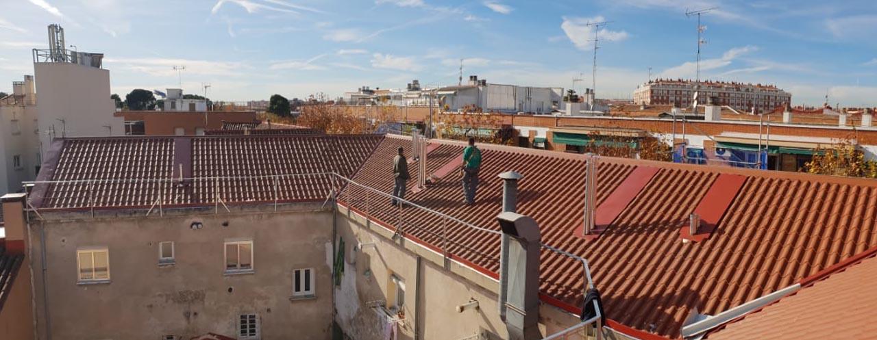 Tejados Madrid Rehabilitar