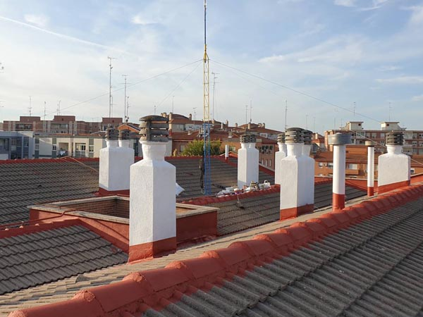 Reparación Cubiertas Techo Madrid